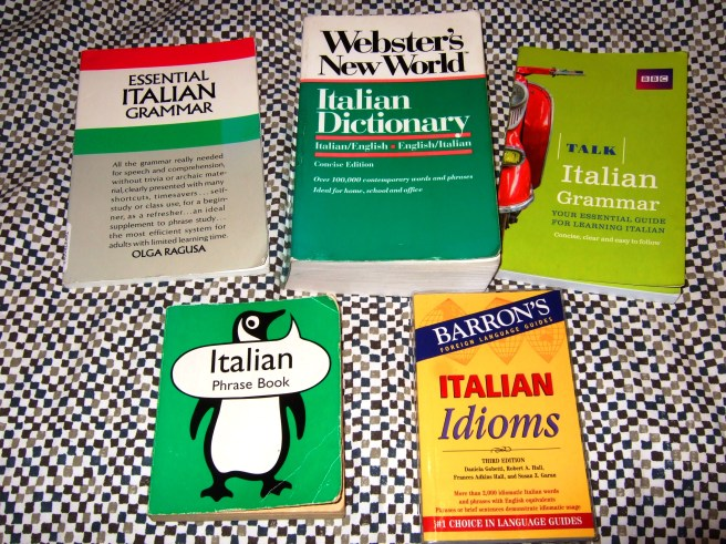 Italian language books