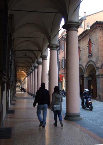 Portico on Strada Maggiore