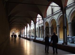 Portico at Santa Maria dei Servi, Strada Maggiore