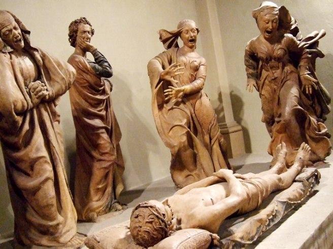 Compianto sul Cristo morto (1463 - 1490) by Niccolò dell'Arca
