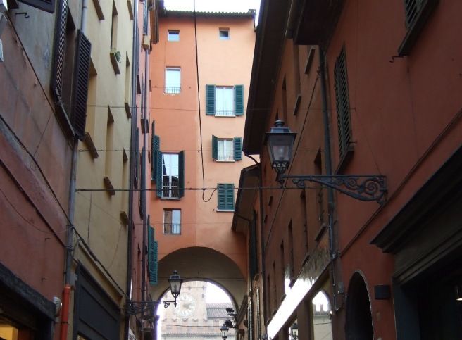 Buildings on Via Clavature