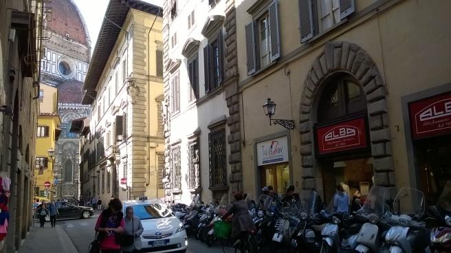 Duomo from Via dei Servi