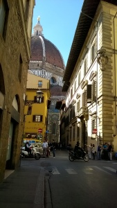 Duomo looming