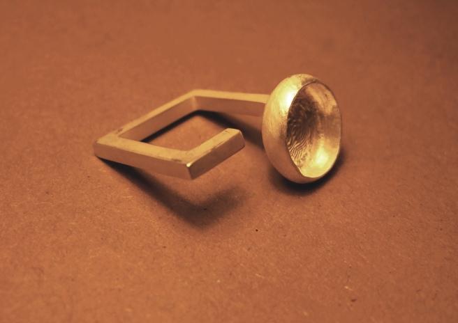 Ring awaiting stone
