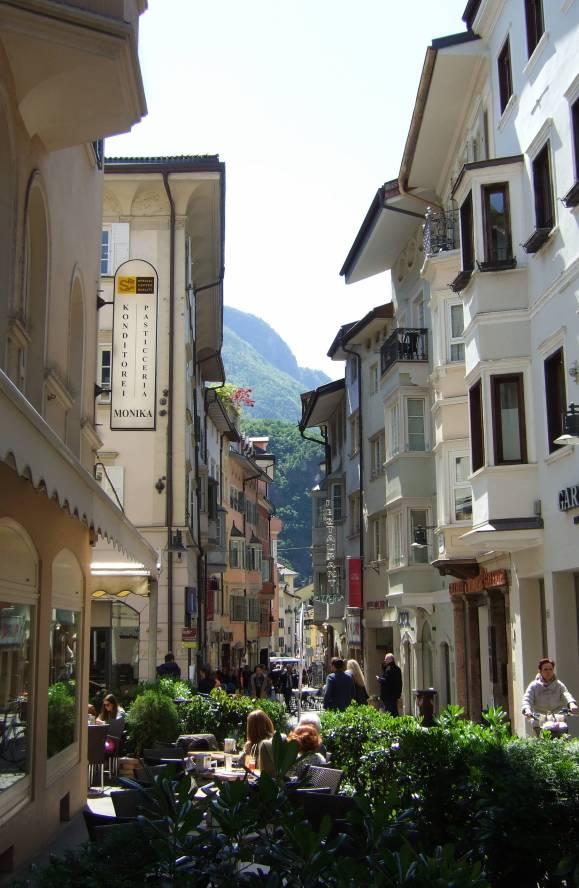 Bolzano lunchtime